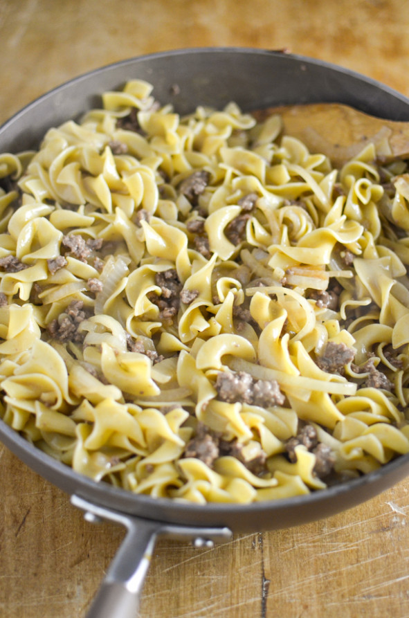 Ground Beef Stroganoff - Simply Whisked - recipes dairy free dinner