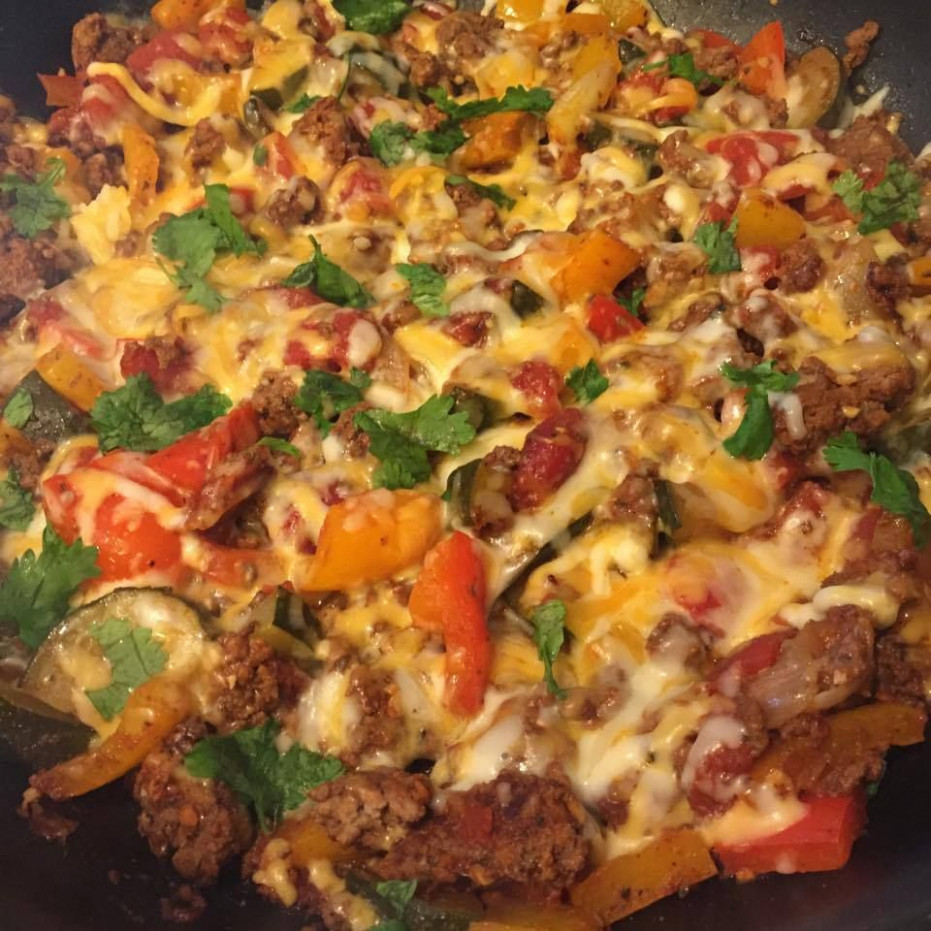Ground Beef Taco Skillet. 21 day fix recipe approved ..