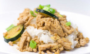 Ground Chicken Teriyaki With Zucchini And Onions Recipe – Recipes For Ground Chicken