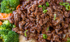 Ground Mongolian Beef – Recipes With Ground Beef For Dinner