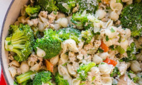 Ground Turkey And Broccoli Pasta – IFOODreal – Healthy ..