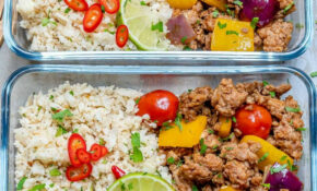 Ground Turkey Cauliflower Rice – Healthy Rice Recipes