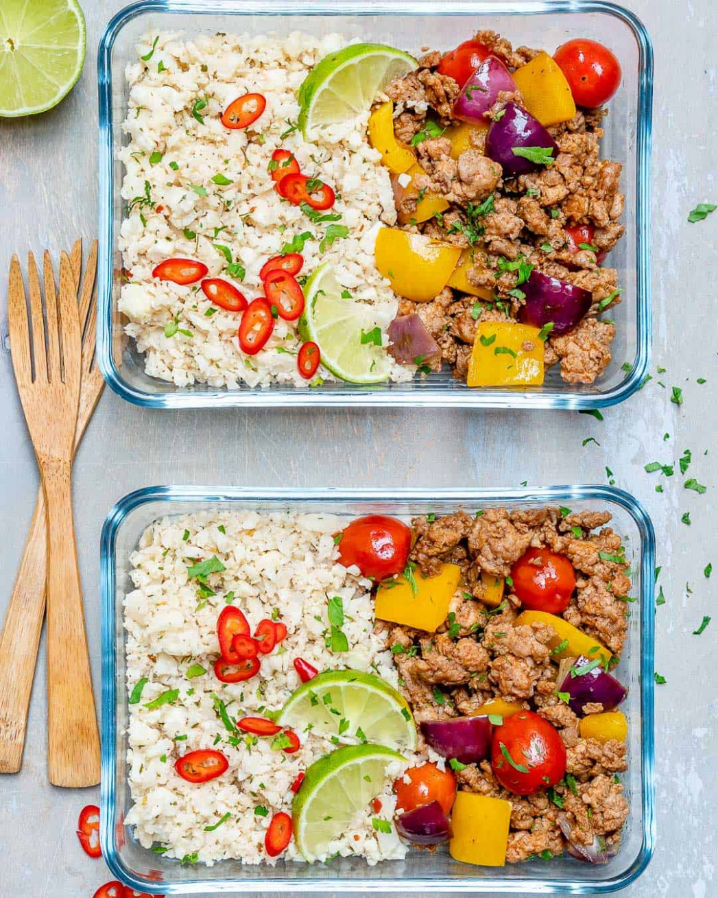 Ground Turkey Cauliflower Rice Recipe - Healthy Fitness Meals - recipes ground turkey healthy