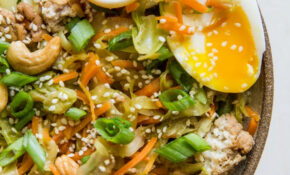 Ground Turkey Egg Roll Bowls – Egg Recipes Dinner Healthy