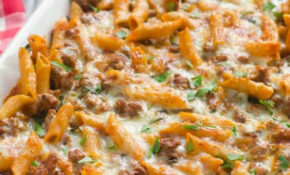 Ground Turkey Pasta Bake – IFOODreal – Healthy Family Recipes – Healthy Recipes Using Ground Turkey
