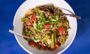 Ground Turkey + Snow Pea Stir Fry – Healthy Recipes Ground Turkey