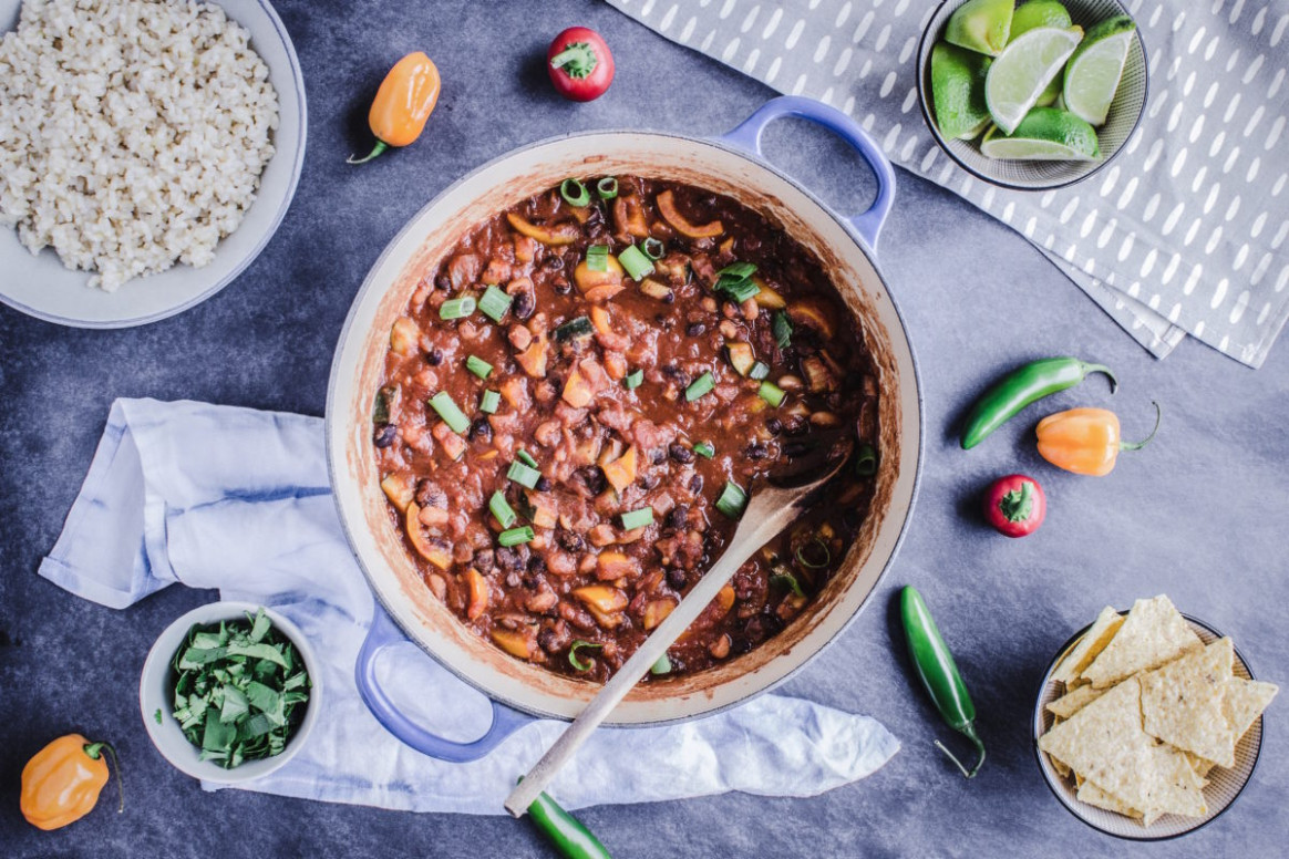 Guide to Vegan Meal Prep & Warming Bean Chili Recipe ..