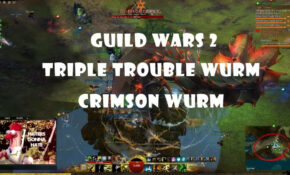 Guild Wars 12 | Triple Trouble Wurm - Crimson | CAN YOU CHASE ...