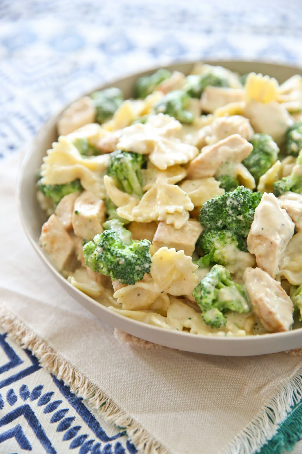 Guiltless Alfredo Sauce - dinner recipes low fat
