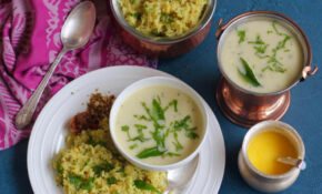 Gujarati Kadhi And Khichdi – Instant Pot – Ministry Of Curry – Recipes In Marathi For Dinner