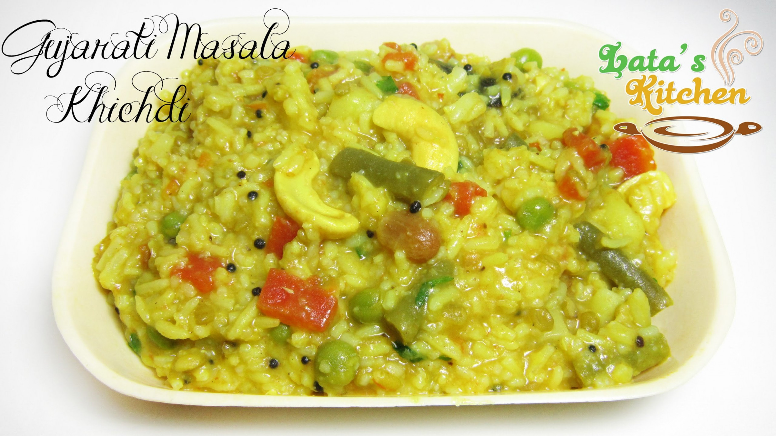 Gujarati Masala Khichdi Recipe — Indian Vegetarian Recipe ..
