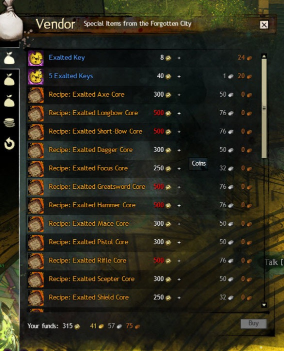 GW2 No Mask Left Behind Exalted Masks Achievement Guide ..