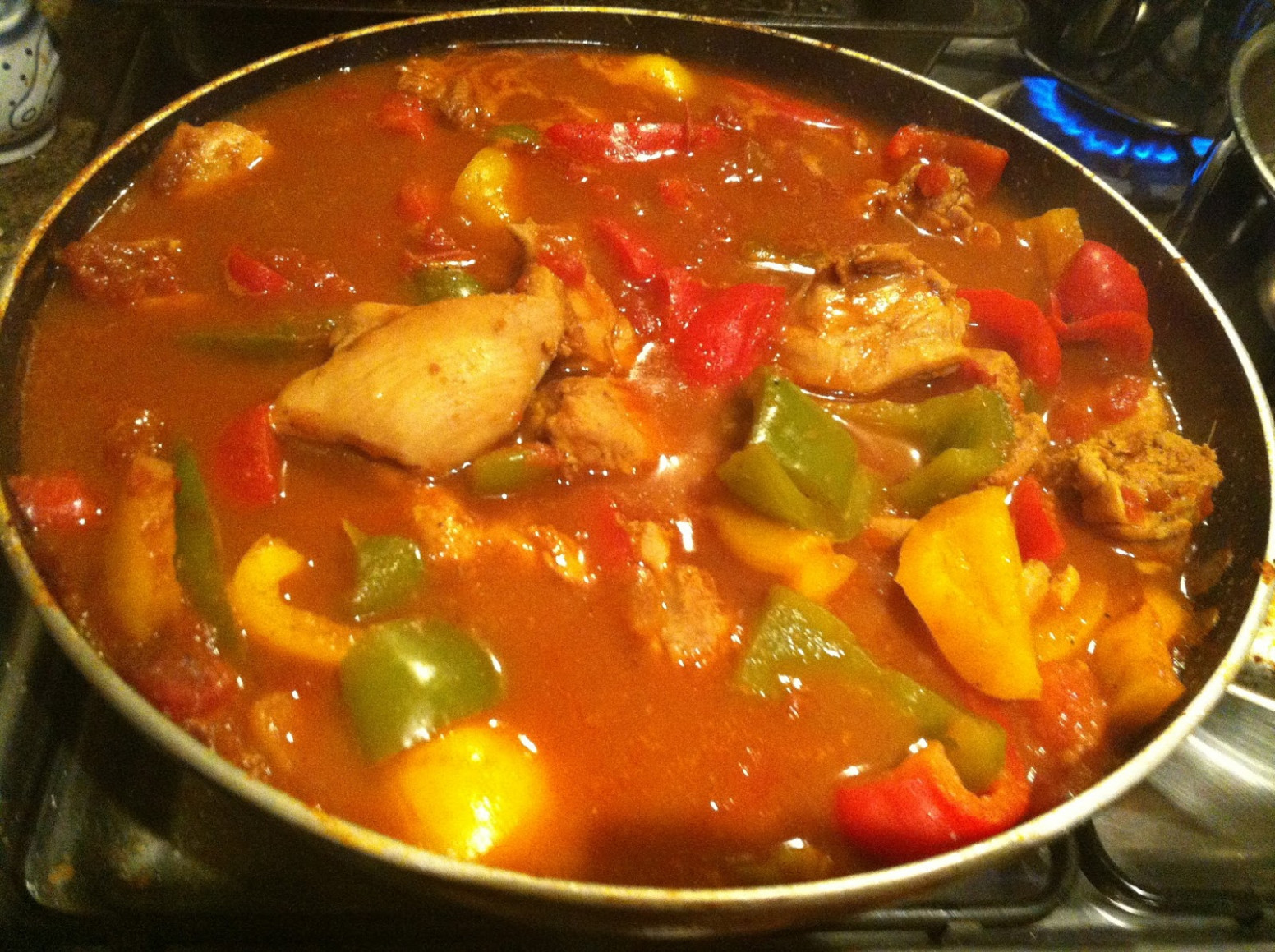 Hairy Dieters' Chicken Bhuna | Laws Of The Kitchen - Hairy Bikers Recipes Chicken