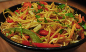 Hakka Noodles Recipe – Indo Chinese Cuisine – CookingShooking – Recipes For Chinese Food