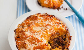 'Half And Half' Cottage Pie With Root Veg Mash – Dinner Recipes Using Half And Half