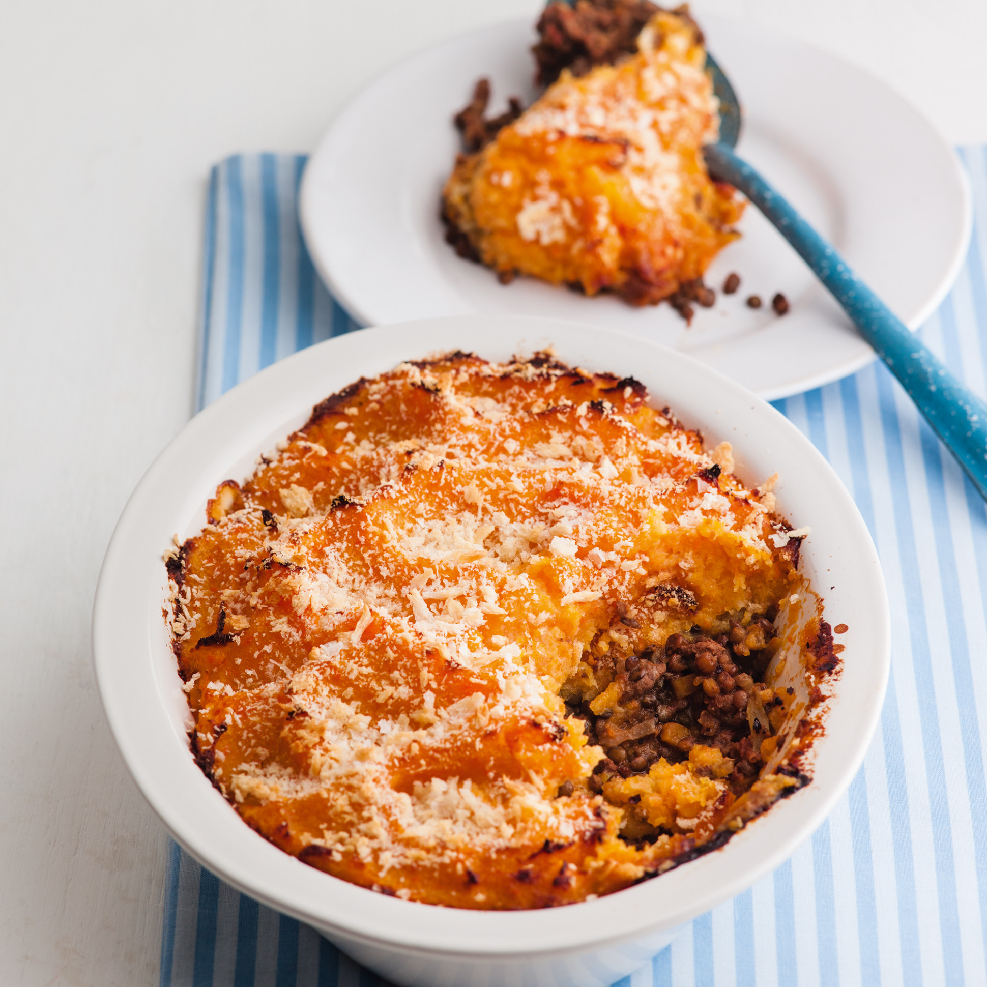 'Half and Half' Cottage Pie with Root Veg Mash - dinner recipes using half and half