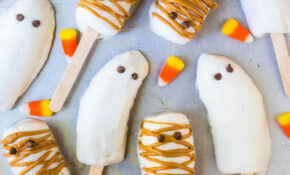 Halloween Banana Popsicles – Recipes Popsicles Healthy