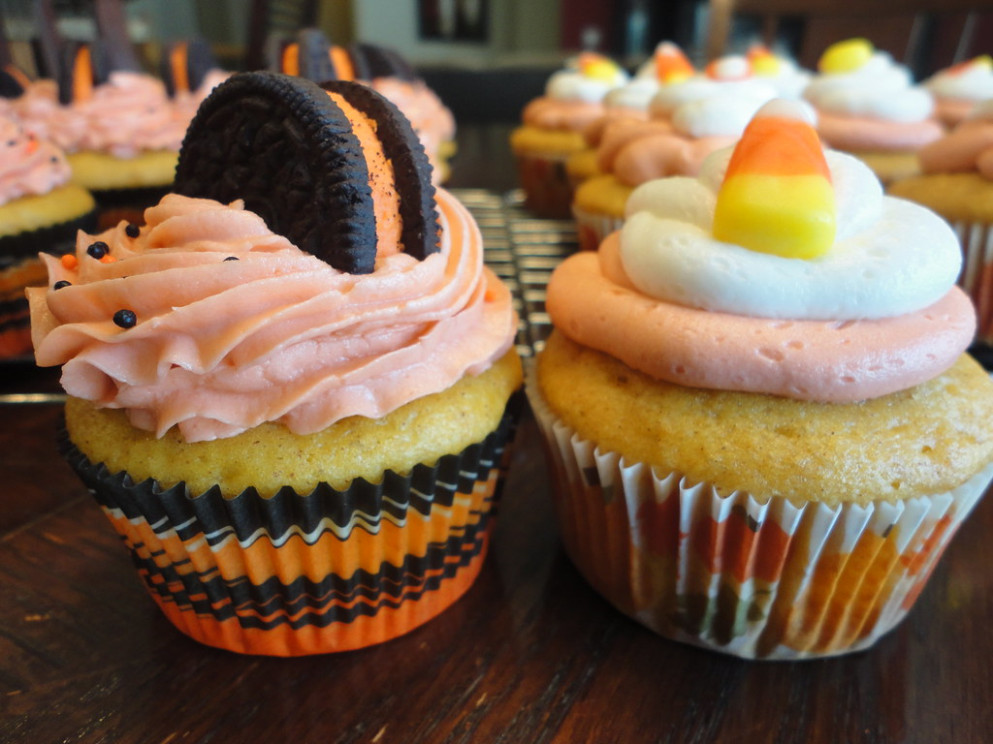 Halloween Cupcakes - halloween food recipes