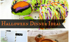 Halloween Dinner Ideas – Cooking With Ruthie – Recipes Quick Dinner