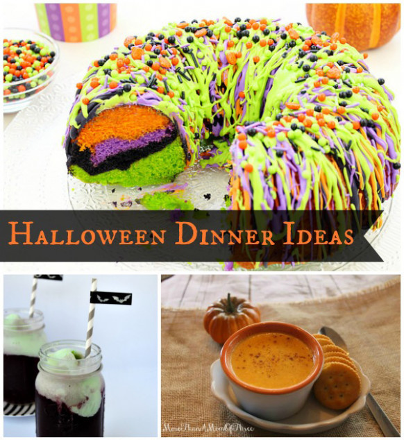 Halloween Dinner Ideas - Cooking With Ruthie - recipes quick dinner