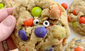 Halloween Monster Cookies – Halloween Food Recipes