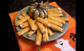 Halloween Party Food Ideas And Recipes – Spooky Breadstick ..