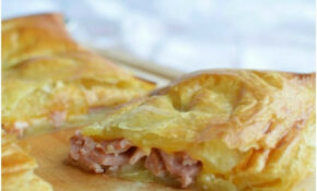 Ham and Cheese Puff Pastry Bake - Great way to use up ...