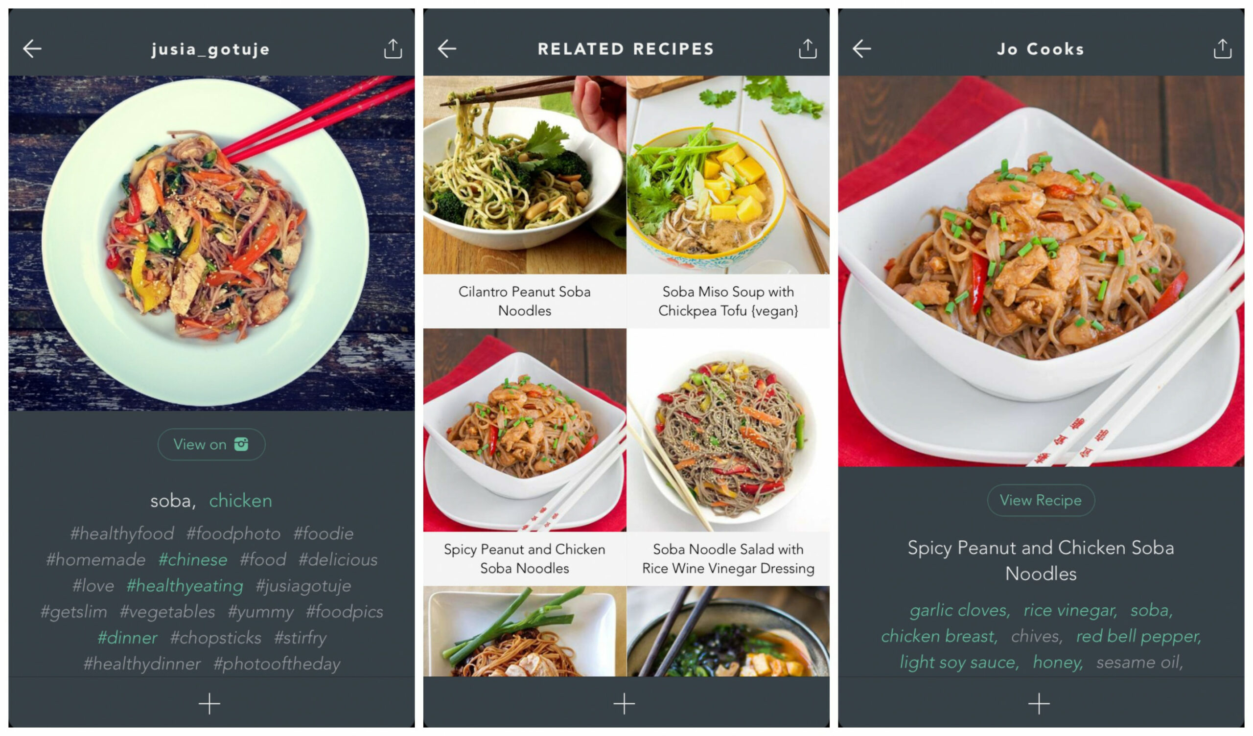 Handpick Turns Instagram Into The World's Largest Recipe Book - Food Recipes App