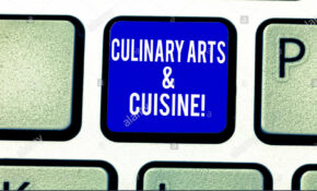Handwriting Text Culinary Arts And Cuisine. Concept Meaning ..