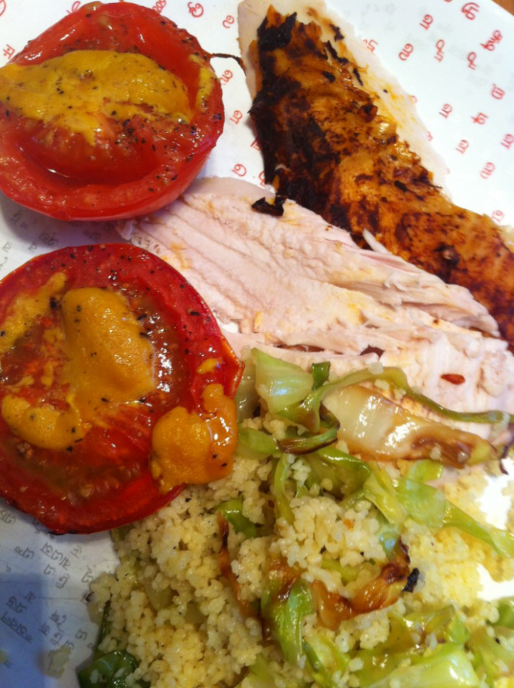 Harissa Chicken with Couscous - chicken recipes ottolenghi