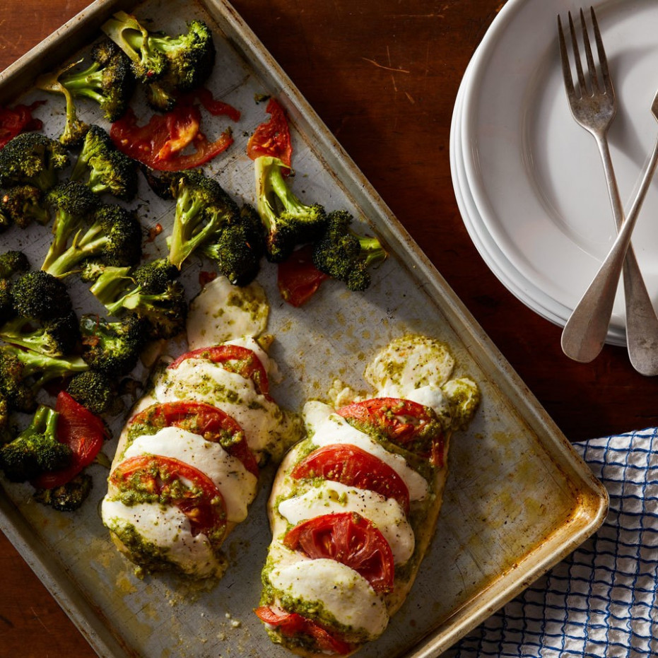 Hasselback Caprese Chicken - chicken recipes to lose weight