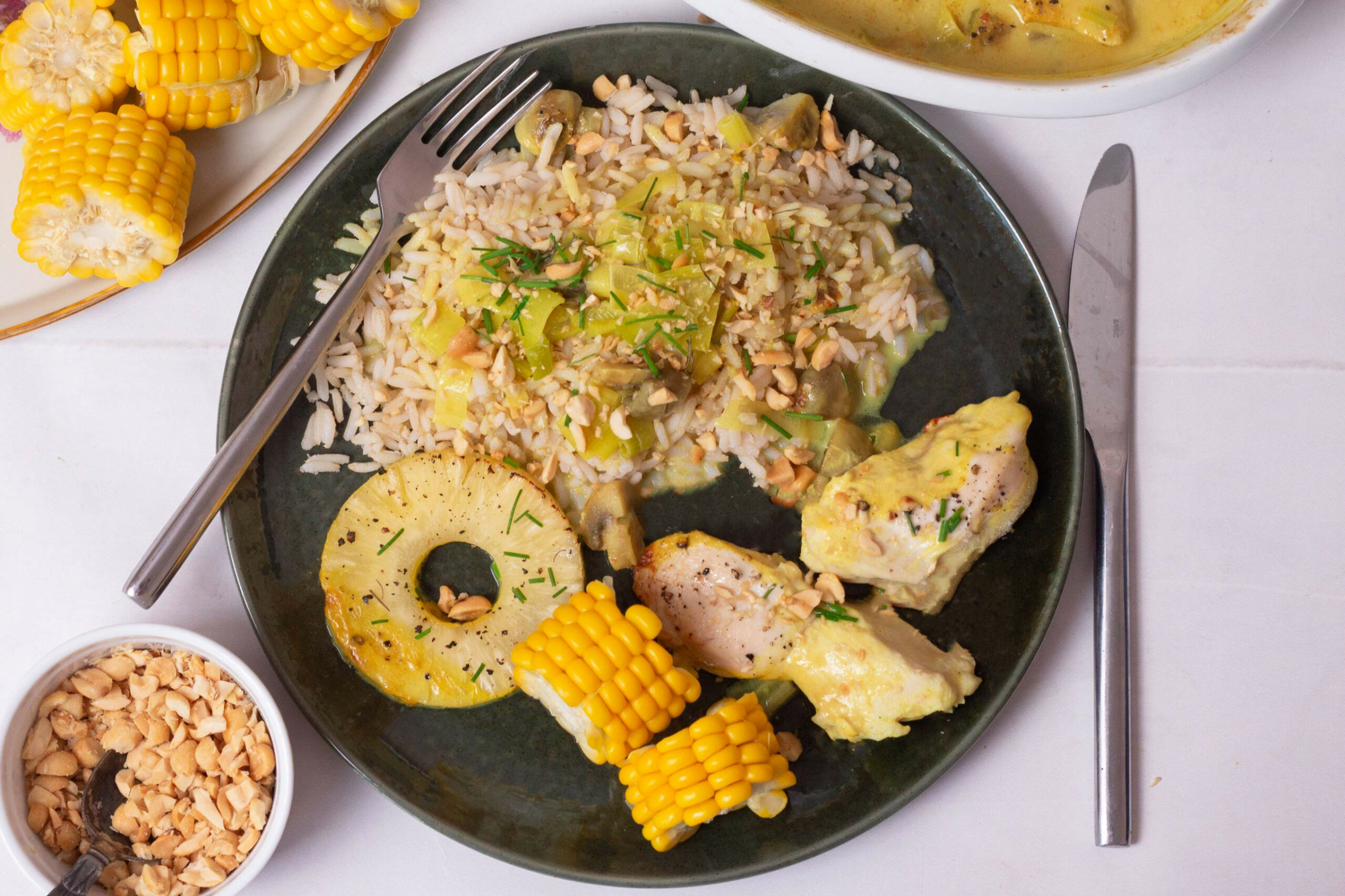 Hawaii-chicken with pineapple and rice - day two - chicken recipes hawaii