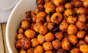 Hawaiian BBQ Roasted Chickpeas - The Complete Savorist