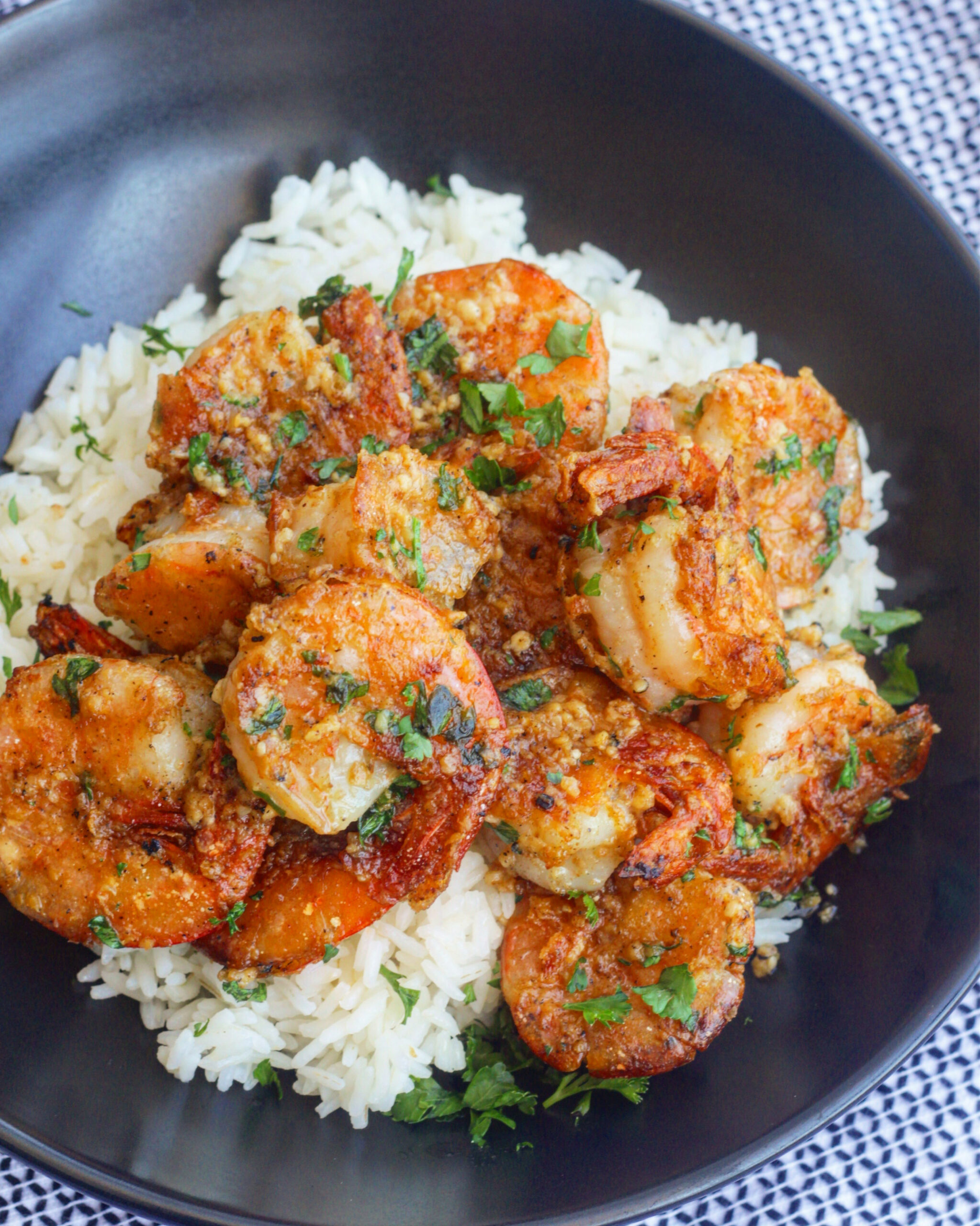 Hawaiian Garlic Shrimp - hawaiian food recipes