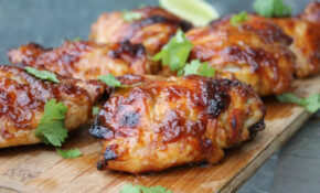 Hawaiian Glazed Chicken Thighs Recipe At Http ..