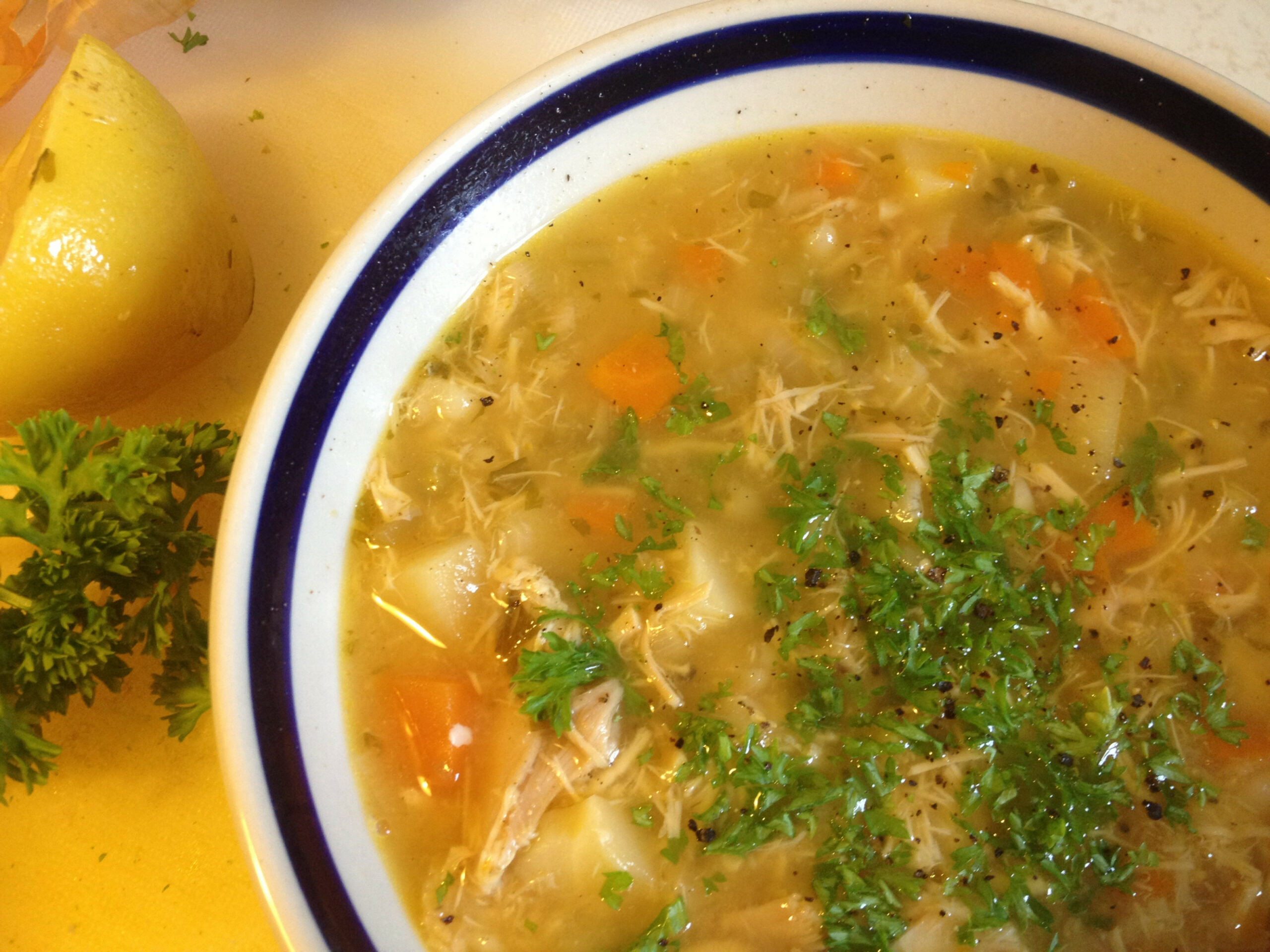 Heal-All Chicken Soup Recipe | Cauldrons and Cupcakes - recipes using chicken broth