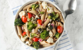 Healthier Greek Pasta Salad (21 Day Fix Friendly ..