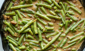 Healthier Green Bean Casserole – The Toasted Pine Nut – Recipes Green Bean Casserole Healthy