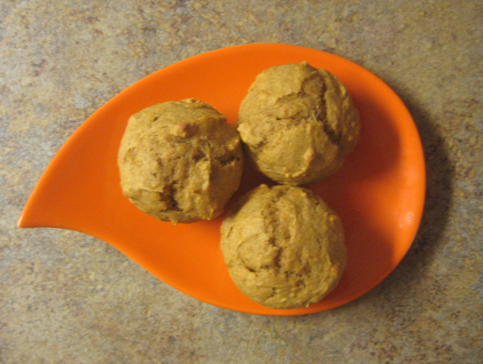 healthier pumpkin muffins - healthy recipes allrecipes