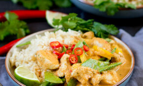 Healthier Red Thai Chicken Curry – Without The Shop Bought ..