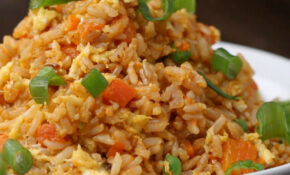 Healthier Veggie Fried Rice Recipe By Tasty – Food Recipes Rice