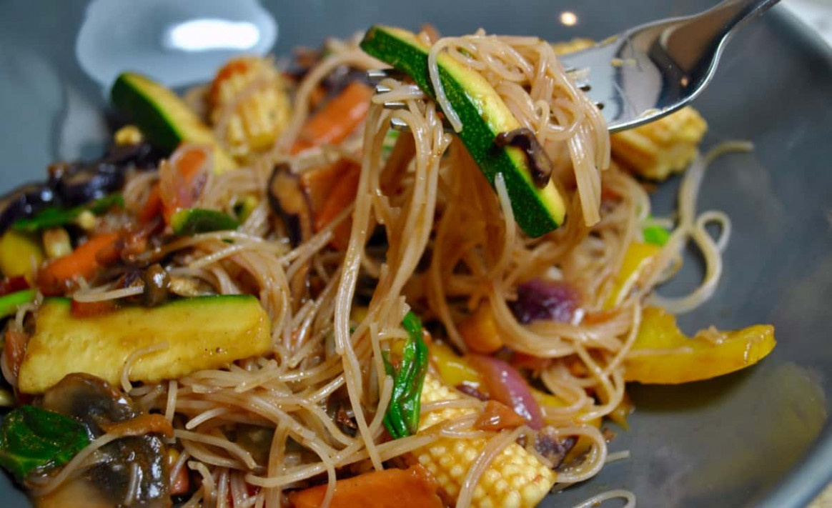 Healthy 12 A Day Vegetable Vegan Stir Fry - stir fry recipes vegetarian