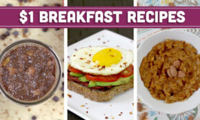 Healthy $13 Breakfast Recipes – Easy Budget Meals With Vegan Options! – Mind  Over Munch – Recipes That Are Cheap And Healthy