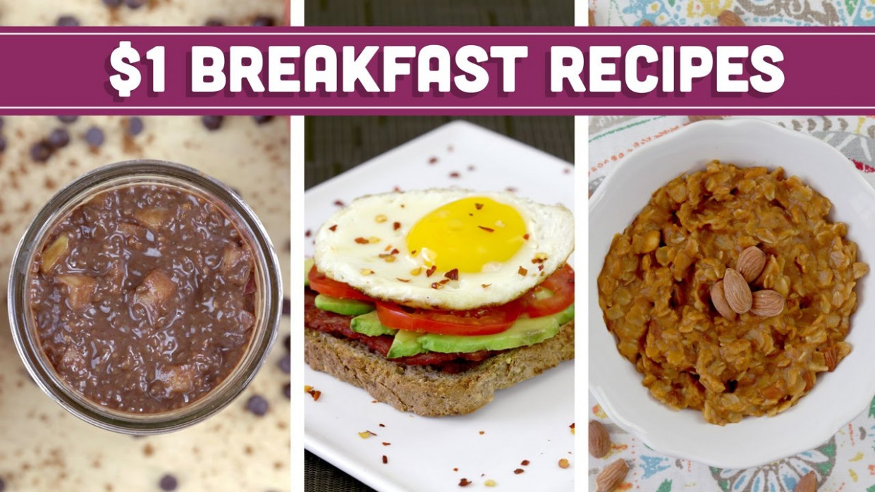 Healthy $13 Breakfast Recipes - Easy Budget Meals with Vegan Options! - Mind  over Munch - recipes that are cheap and healthy