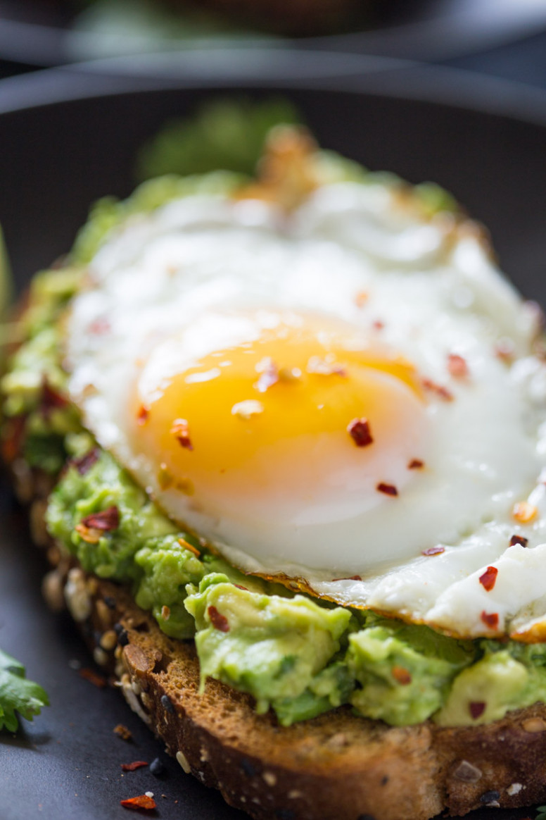 Healthy 13 Minute Avocado Toast - egg recipes dinner healthy