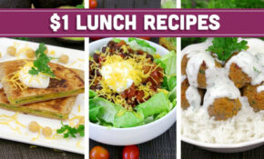 Healthy $14 Lunch Recipes – Easy Budget Meals! – Mind Over Munch – Recipes On A Budget Healthy