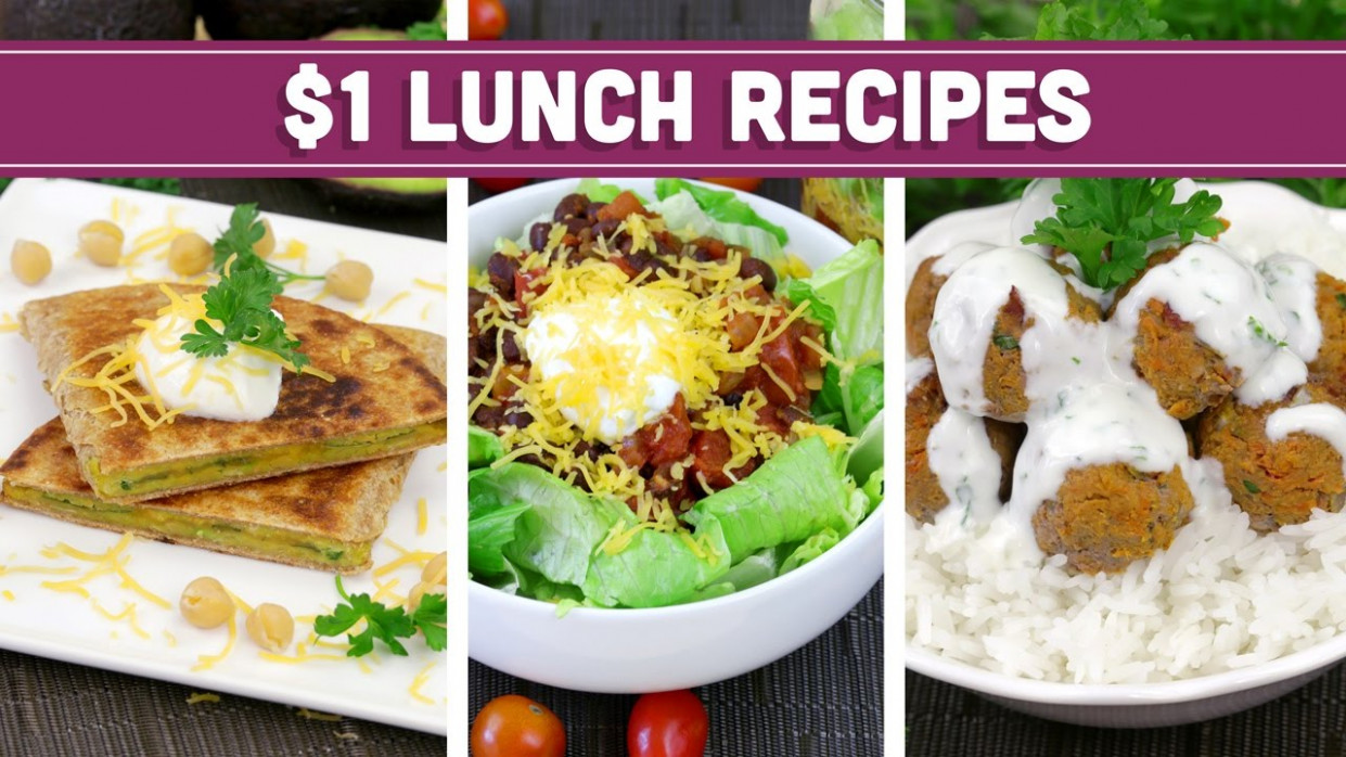 Healthy $14 Lunch Recipes - Easy Budget Meals! - Mind Over Munch - recipes on a budget healthy