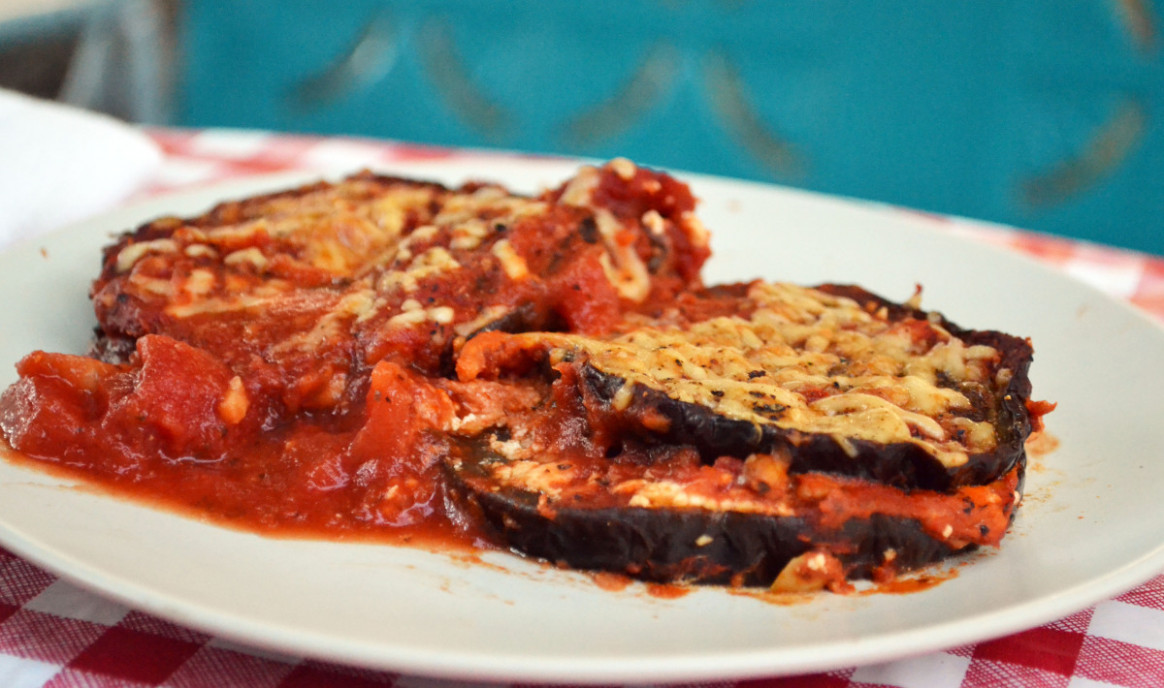 Healthy and Easy Eggplant Parmesan – BIG EATS tiny kitchen - quick healthy eggplant recipes