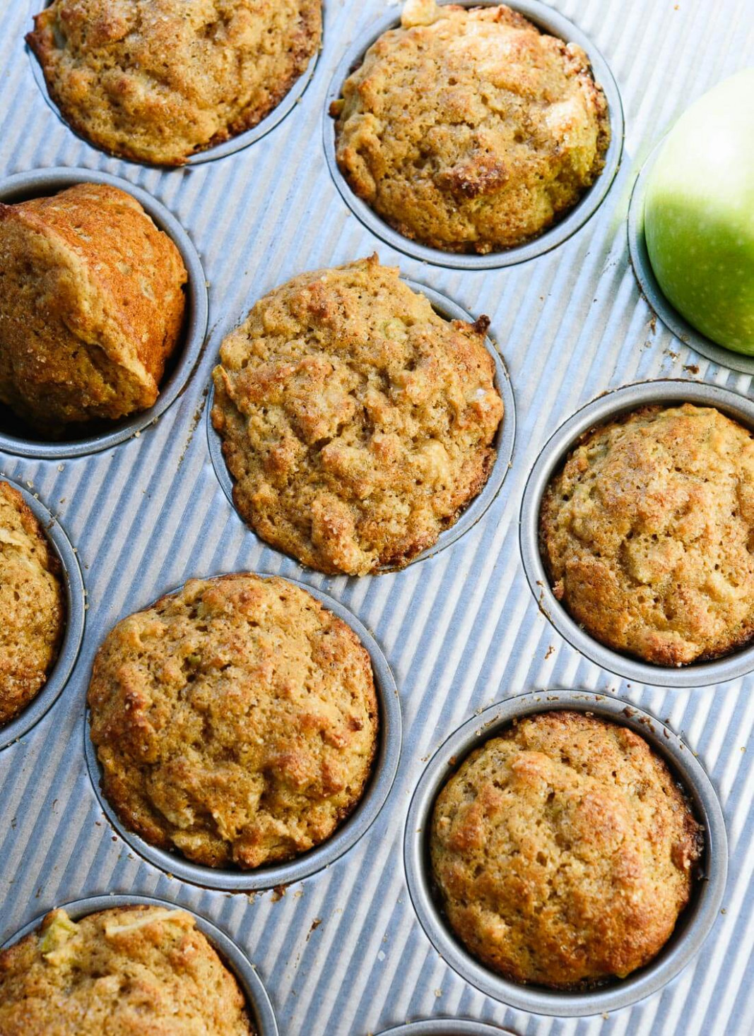 Healthy Apple Muffins - healthy recipes cakes