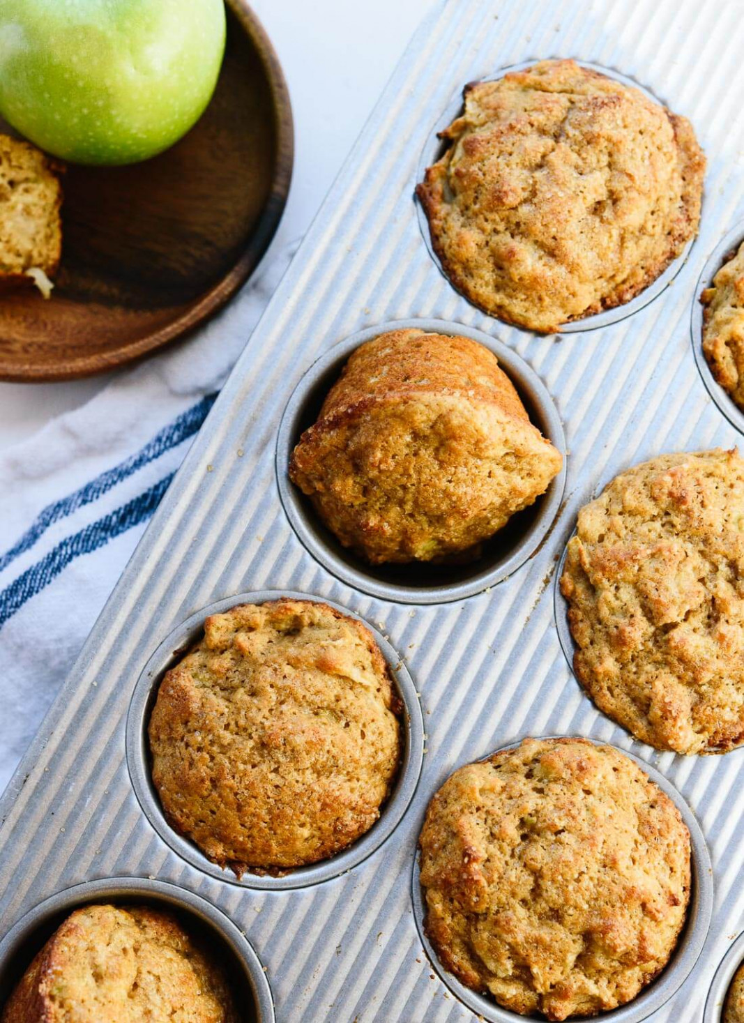 Healthy Apple Muffins Recipe - Cookie and Kate - healthy recipes using apples